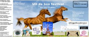 poster uit de boxfestival KLAAR